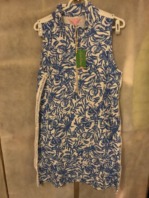 ada67dc5054aa0 NWT LILLY PULITZER SKIPPER SLEEVELESS DRESS ON A ROLL XL FREE SHIPPING