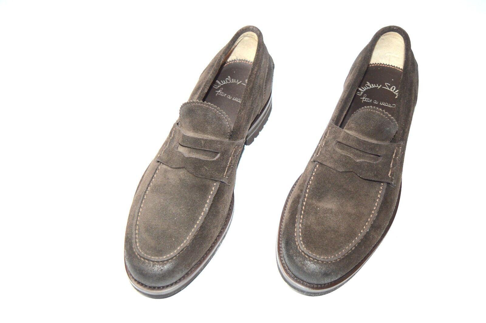 NEW SANTONI Pelle Shoes Dress Size Size Size Eu 40.5 Uk 6.5 Us 7.5 (MA 1) de2da6