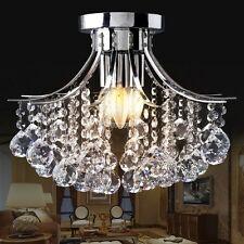 Crystal Top 3 Light Chandelier Lighting Dining /Living Room Ceiling Fixture Lamp