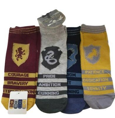 Harry Potter Women/'s Socks Ladies Shoe Liners Printed Pack of 3 UK 4-8 Primark
