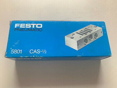 Festo Connection Plate / Nr: 5801 / Type: CAS-1/ 2/ New