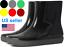 thumbnail 2 - Women Rubber Short Ankle-High Wide Calf Pull-On Style Rain Garden Boots