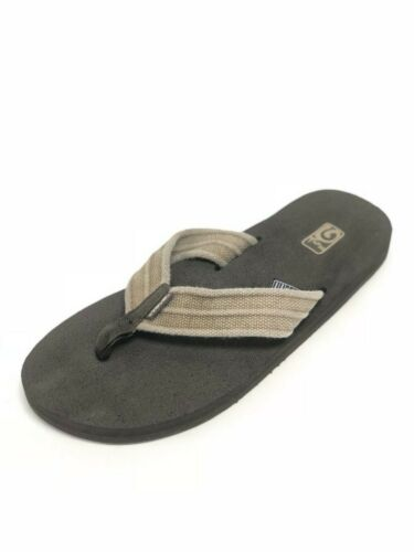 Teva Men/'s Mush II Canvas Sandals Flip Flops Thongs 1004890 Drizzle Dune Arroyo