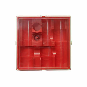 Lee Precision 3-Die Box Flat Red with Lid 90791
