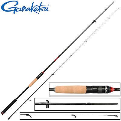 Gamakatsu Akilas 80ML 2,40m 3 15g leichte Spinnrute zum