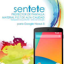 Lámina Protector de Pantalla Google Nexus 5 - SENTETE -