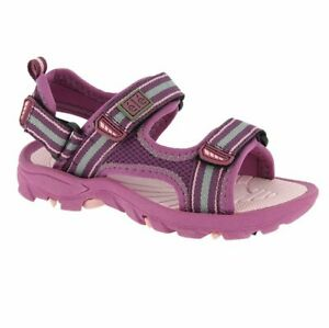 Elementerre Routt violet/rose, sandale de marche fille