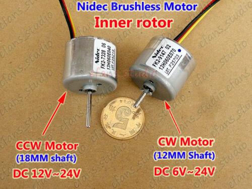 DC 12V-24V CW CCW Motor Nedic Brushless Electric DC Motor Inner Rotor w//Driver