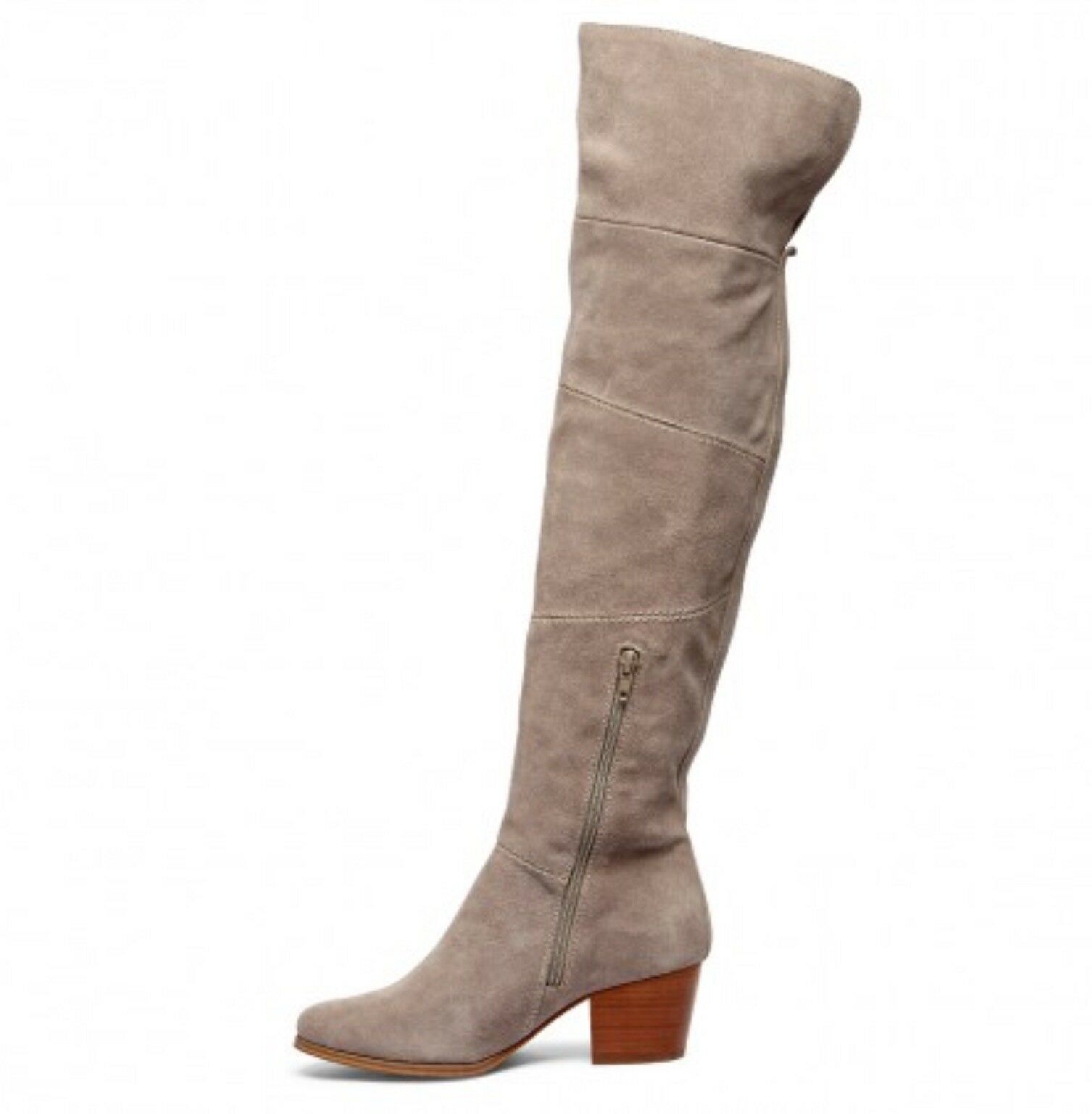 SOLE Size SOCIETY MELBOURNE Patchwork OTK Boot, Size SOLE 7.5, Mushroom Color 153900