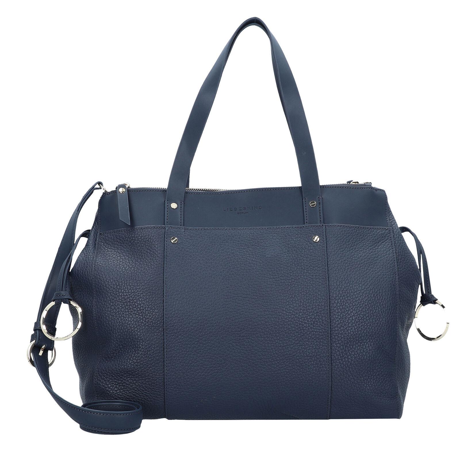 Liebeskind Pebble Handtasche Henkeltasche Damen Damen Damen Leder 43 cm (navy Blau)     | Zu verkaufen  | Verschiedene  | Qualität  0eaa6e