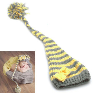 498f6bca2 Newborn Baby Girls Boys Crochet Knit Costume Photo Photography Prop ...
