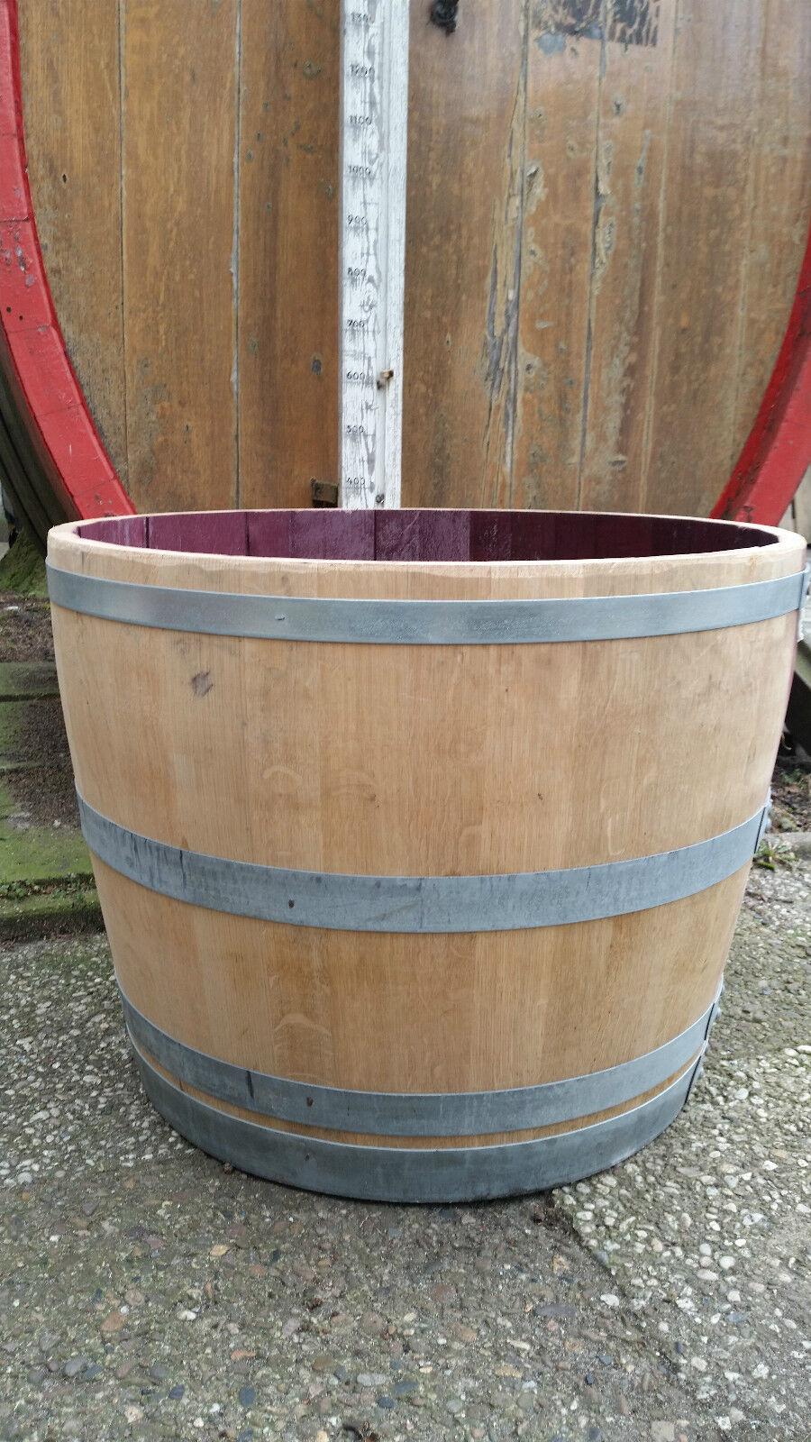 2 3 Faß 70 54 cm,(2-3Jahre)Miniteich Blaumenkübel Weinfaß Eichenkübel Pflanzkübel