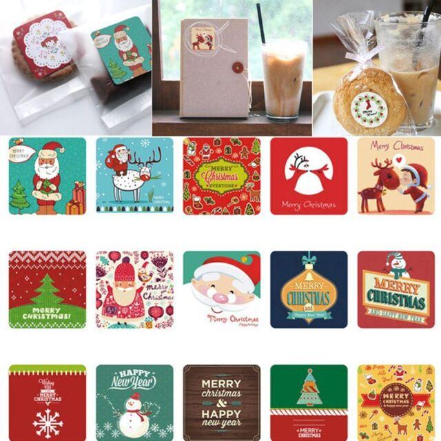 38Pcs/bag DIY Crafts Scrapbooking Stickers Decorative Sticker Christmas Decor