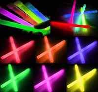 25 Power Knicklichter 150 X 10mm 6 Farben Mix Oder Wunschfarbe Glow Sticks Neu
