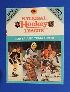 1973 NHL Player and Team Album Bobby Orr Boston Bruins | eBay Bruins Roster 1973