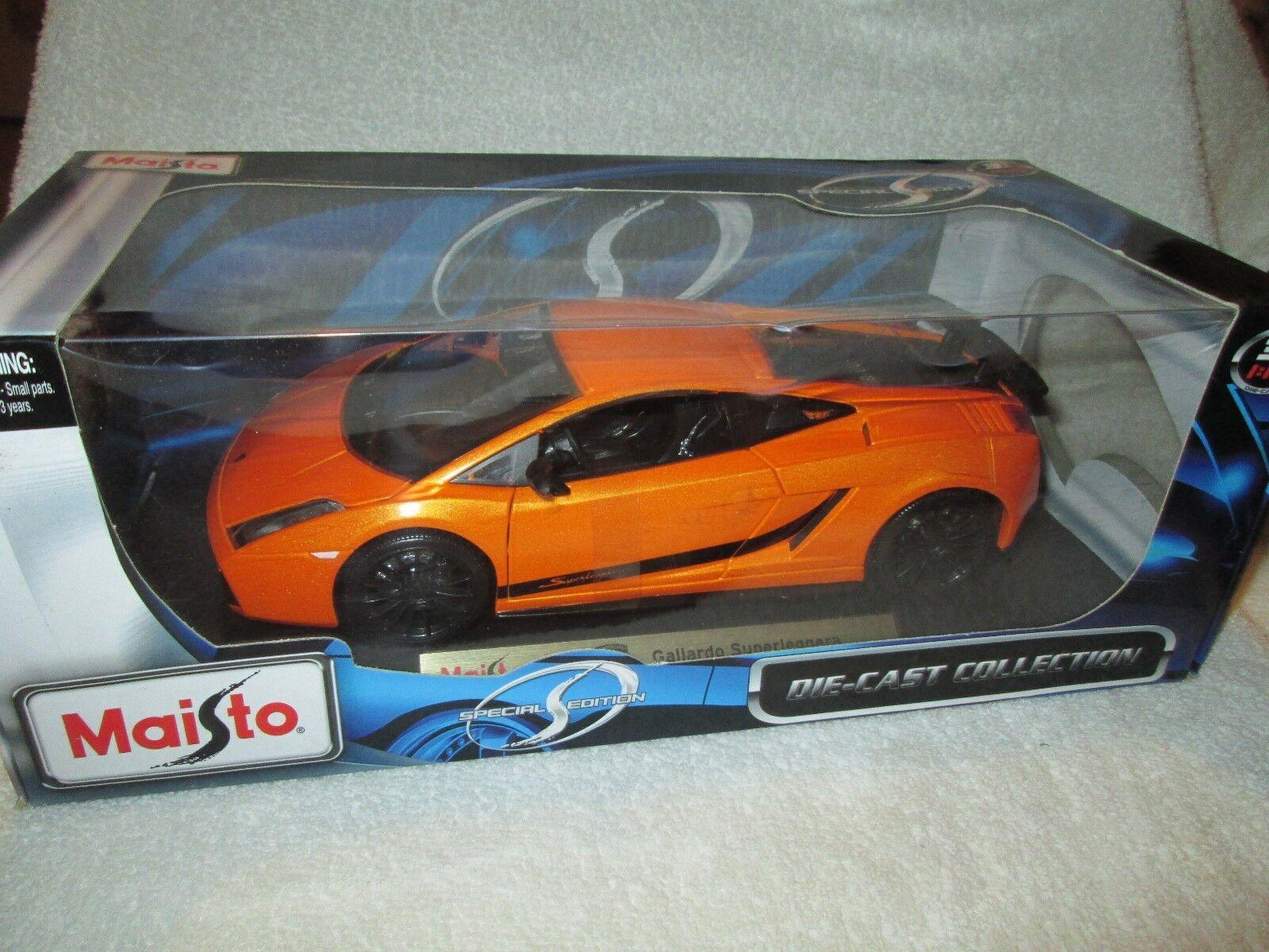 LAMBORGINI Murcielago LP640  orange  1 18   diecast Maisto