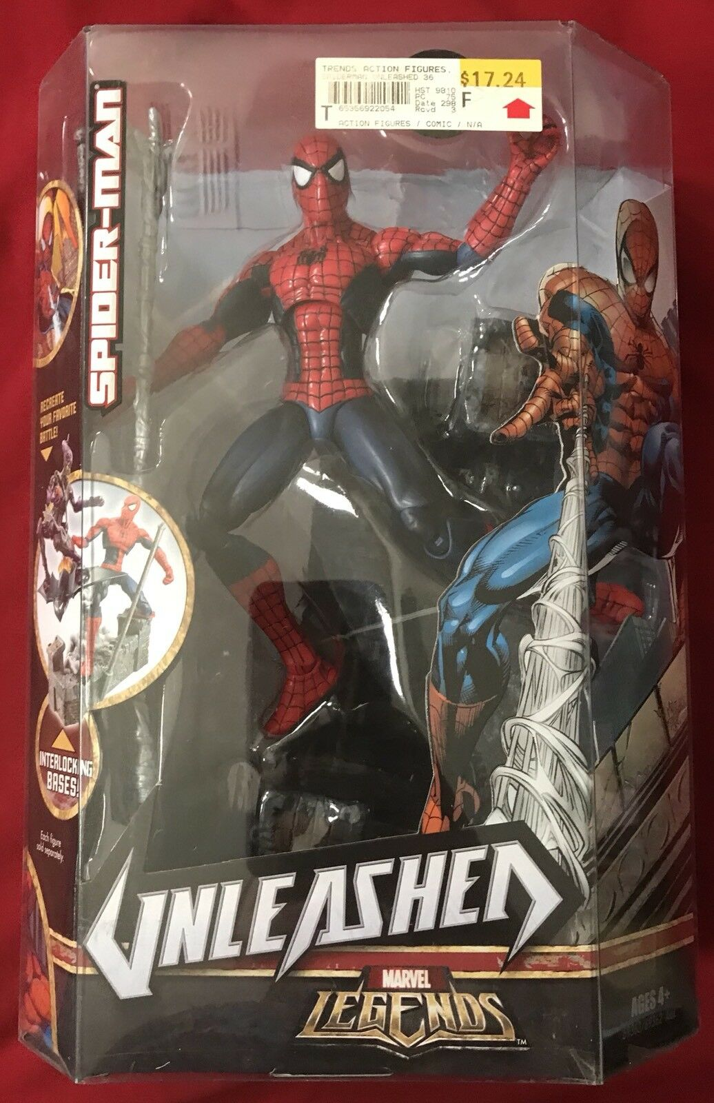 "Hasbro Marvel Legends Unleashed Spider-Man 8"" Action Figure"