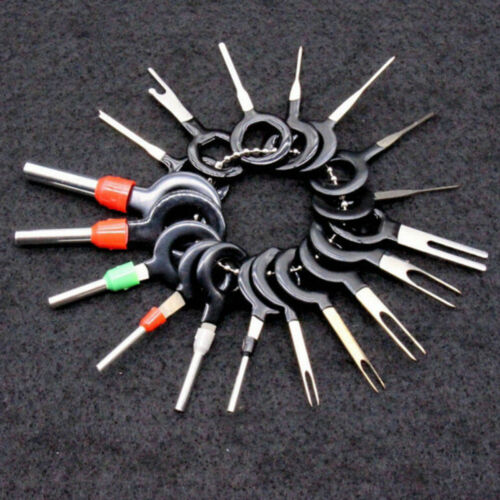 18pcs//Set Car Wire Terminal Removal Tool Crimp Connector Extractor Release Pin