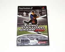 Pro Evolution Soccer 2007 Winning Eleven PES Playstation 2 PS2 Game New Sealed
