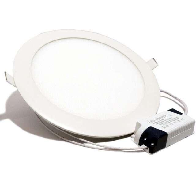 Foco Empotrable LED DOWNLIGHT 18W Luz Blanca Fría 6000k Extraplano
