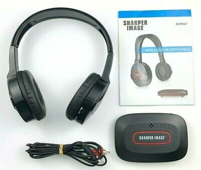 sharper image wireless headphones shp tv mp player stereos computers ebay