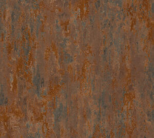 EUR-3-37-qm-Betonoptik-Tapete-AS-Creation-Havanna-32651-1-Beton-Kupfer-Rost