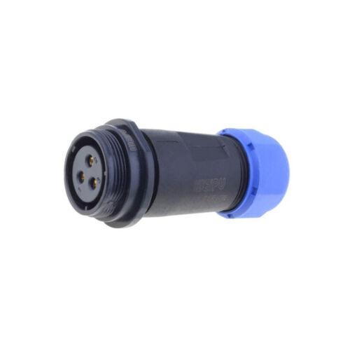 SP2111//S3 Plug Connector circular SP21 female PIN3 IP68 500V 7÷12mm SP2111//S3II