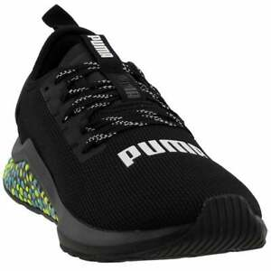 puma hybrid nx casual running shoes black mens  size 13 d