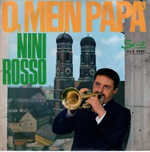 7inch-NINI-ROSSO-o-mein-papa-ITALY-EX-S0323