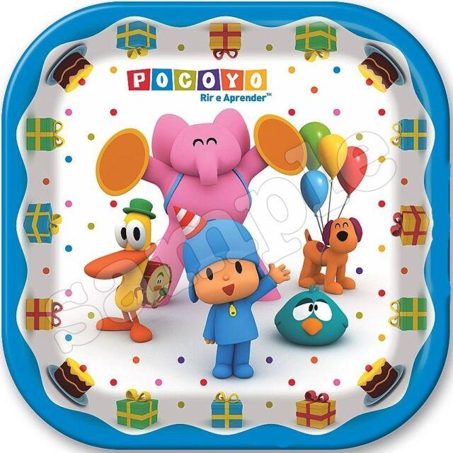 Pocoyo Eßbar Tortenaufleger NEU Party Deko Geburtstag Tortenbild dvd Geburtstag