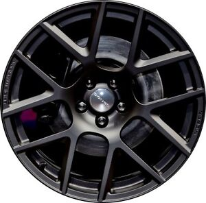 Dodge Challenger Charger Wrt Wheel Touch Up Paint Black