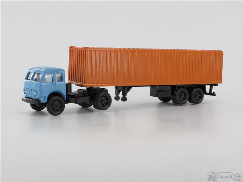 RK-Modelle® TT0143-bl-or MAZ 503 mit Buta Mobill Kofferauflieger Blau Orange Maß  | Louis, ausführlich