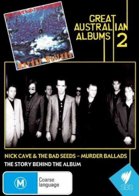 Great Australian Albums: Nick Cave Bad Seeds - Murder Ballads (DVD) Rare OOP!