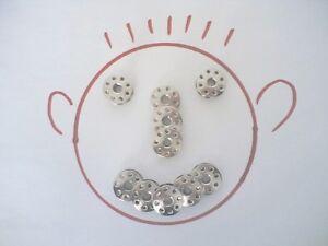 Spulen für viele JUKI Nähmaschinen, Metall, 8 Loch; 10 Stück