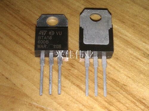 20pcs New BTA16-600B TO220  16A 600V TRIAC