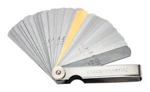 Craftsman 6.89 in. L 32-Blade Feeler Gauge Silver 1 pc.