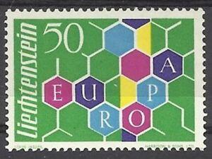 LIECHTENSTEIN-STAMP-TIMBRE-N-355-034-EUROPA-1960-034-NEUF-xx-LUXE-VALEUR-120-C125