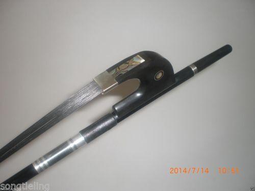 1PCs Fibra de Carbono Negra 3 4 Arco Arco Arco Contrabajo a555dd