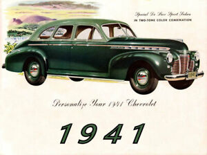 1941 Chevrolet Special Deluxe Cabriolet 40 MIL THICK Refrigerator Magnet