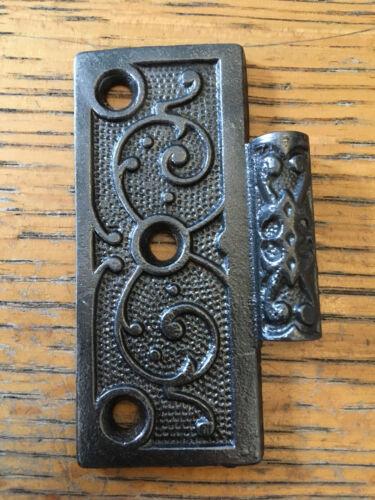 """3 1//2/"""" x 3 1//2/"""" Antique Cast Iron  half hinge"""