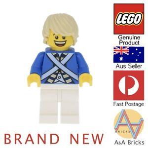 Genuine-LEGO-Minifigure-Bluecoat-Soldier-Brand-New-Item