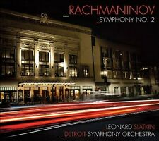 Leonard Slatkin, S. Rachmaninov - Symphony No 2 [New CD]