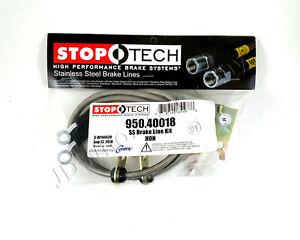 Brake Line Kit Stainless Steel StopTech 950.40018