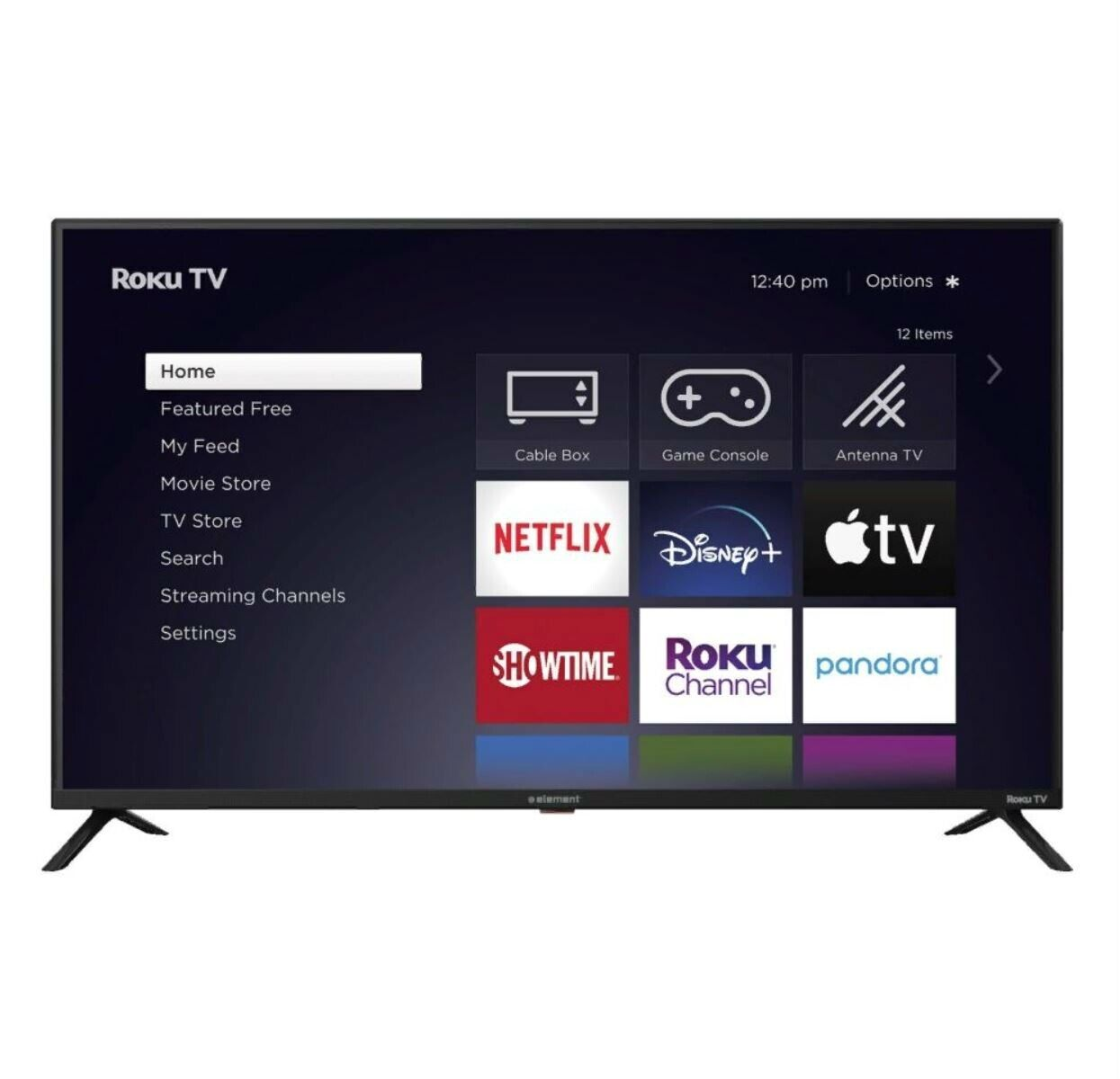 Element 43 Class 4K Ultra HD Roku Smart TV - E4AA43R-T. Available Now for 239.99