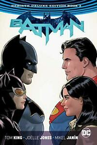 Batman-The-Rebirth-Deluxe-Edition-Book-3-by-Tom-King-NEW-book-FREE-amp-FAST-D