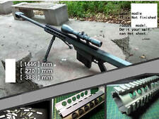 1:1 M107 Barrett M82A1 Gun sniper rifle paper Model Do It Yourself