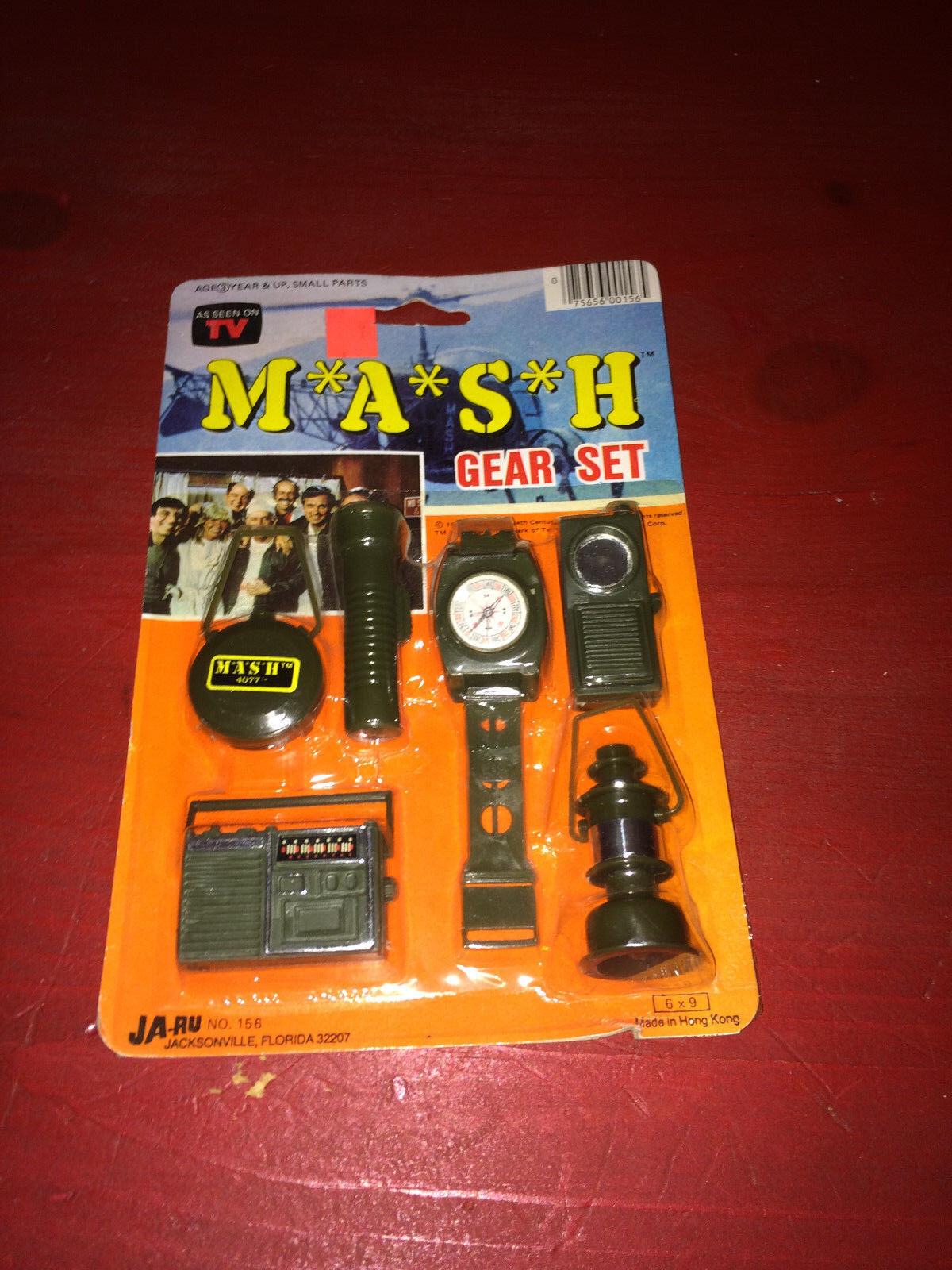Vintage M.A.S.H. 4077th Gear Set NIP - 1981 Ja-Ru RARE