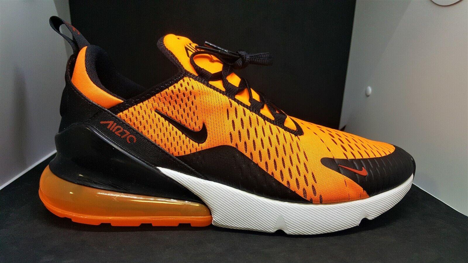 Nike Mens Air Max 270 Total orange   Black-White  BV2517 800