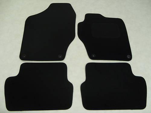 Peugeot 308 2008-14 Fully Tailored Car Floor Mat Set in Black