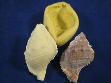 Conch Sea Shell Silicone Mold Gumpaste Fondant Cake Chocolate polymer clay  #37